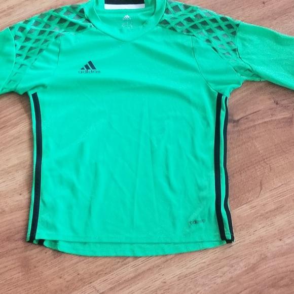 Adidas Adizero padded elbow soccer shirt youth s